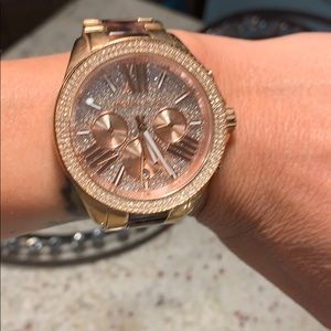 Michael Kors Accessories - A Michael Kors tortoise shell watch